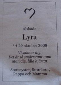 Lyras annons